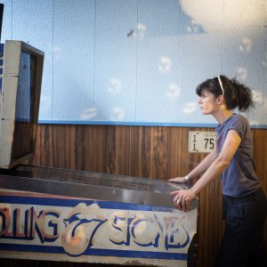 the pinball girl