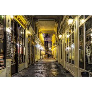 Passage dans le Quartier Latin, Paris