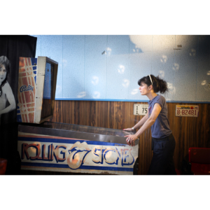 The pinball girl, Paris