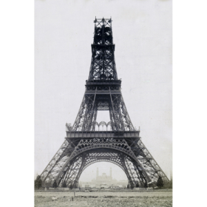 Tour Eiffel en construction, Paris 1888
