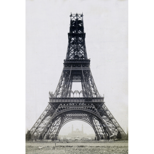 Tour Eiffel en construction, 1888, Louis-Emile Durandelle
