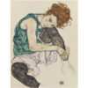 Egon Schiele Sitting woman