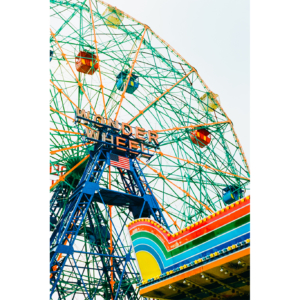 Wonder wheel (Coney Island, New York, 2019)
