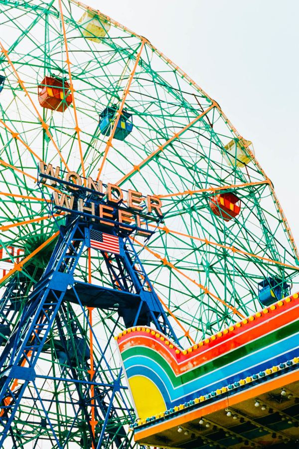 Wonder wheel Jean-Mathieu Saponaro