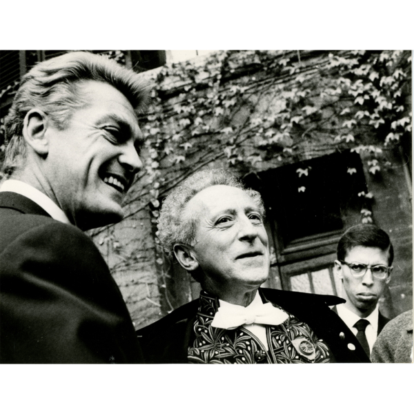 Jean Marais et Jean Cocteau, ABC PRESS