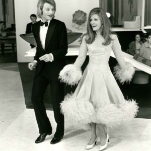Johnny Hallyday et Dalida, 1969, Interpress