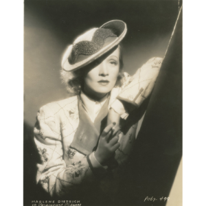 "Marlene Dietrich, movie ""Angel"" (1937) – Silver vintage print"