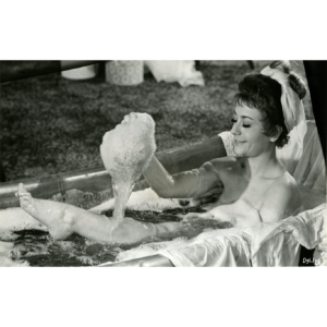 "Annie Girardot in the movie ""Les amours célèbres"" (1961) – Silver original print"