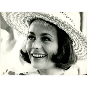 "Annie Girardot in the movie ""La bonne soupe"" (1964) – Silver original print"
