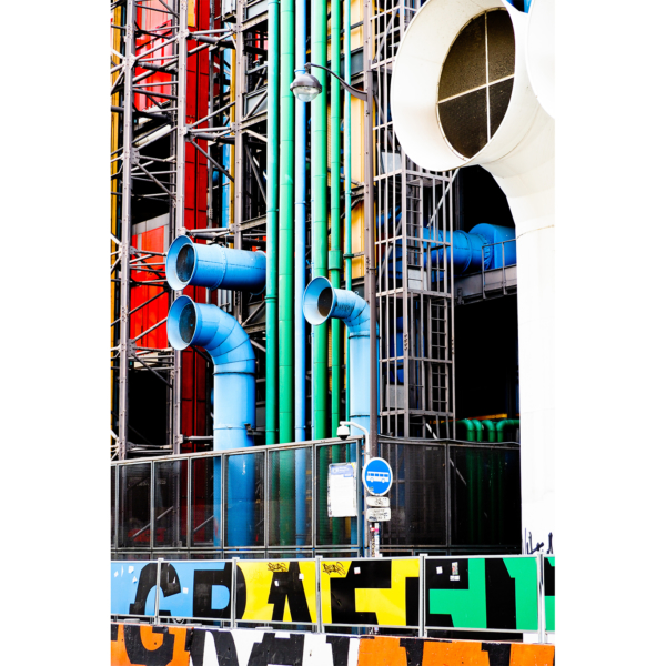 The colors of Beaubourg